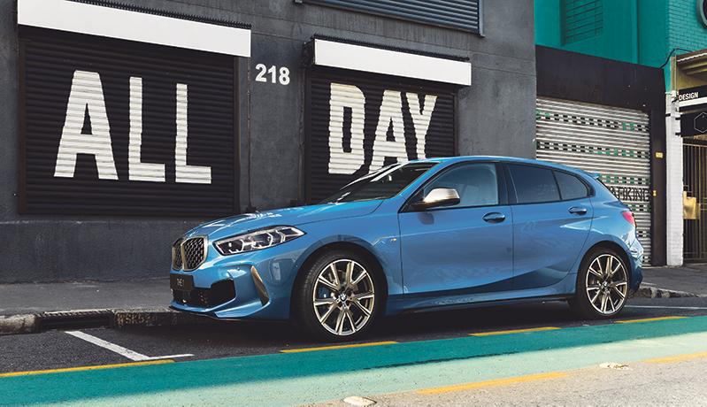 BMW 1-sarja F40 Wetteri uudet autot
