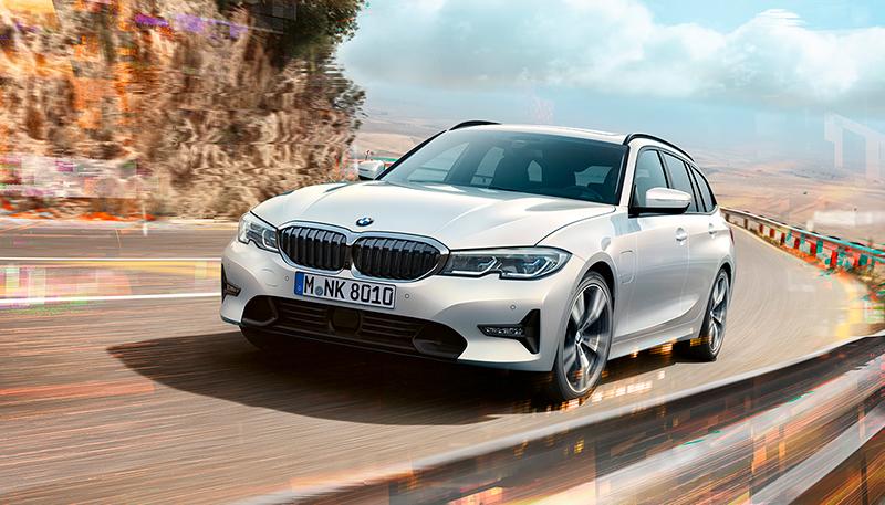 BMW 3-sarjan Touring PLUG-IN HYBRID Wetteriltä