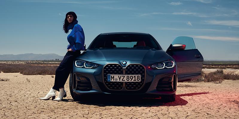 BMW 4-sarja Coupe edestä