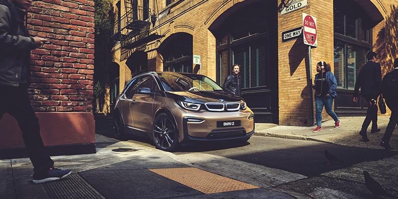 UUSI BMW i3 120 Ah -TÄYSSÄHKÖAUTO. 30 % PIDEMPI TOIMINTAMATKA.