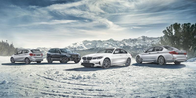 5-sarjaan, X3 sekä X4 malleihin Suomen talvessa käytännöllinen Winter-paketti kampanjahintaan alk. 990€.