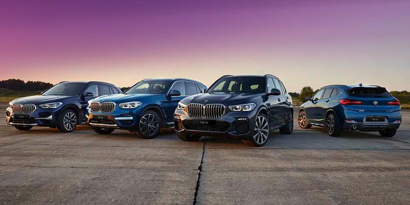 BMW ladattavat x-mallit