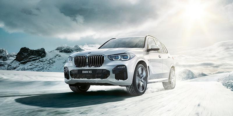 Täysin uusi BMW X5