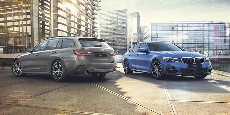 BMW 3-SARJAN TOURING JA SEDAN PLUG-IN HYBRID.