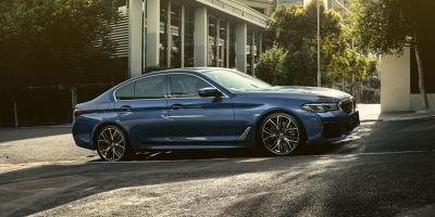 BMW 5-sarjan plug-in hybrid sedan