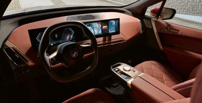 BMW iX sisusta