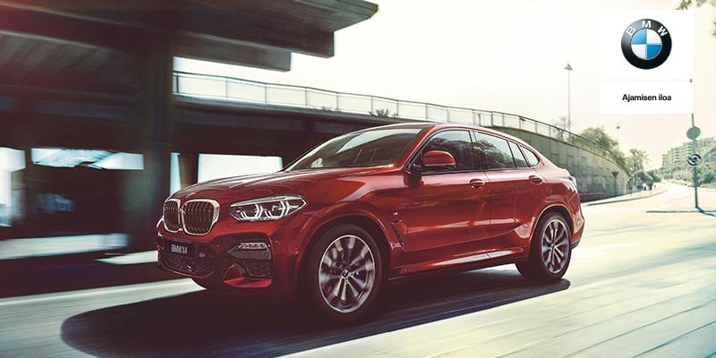 Ensiesittelyssä uusi BMW X4