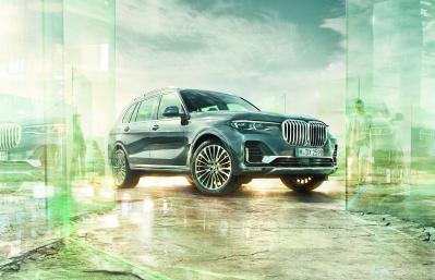 BMW:n uutuus X7