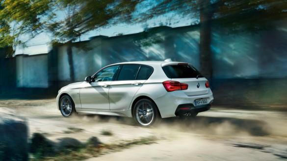 BMW 1-sarja esittelyssä