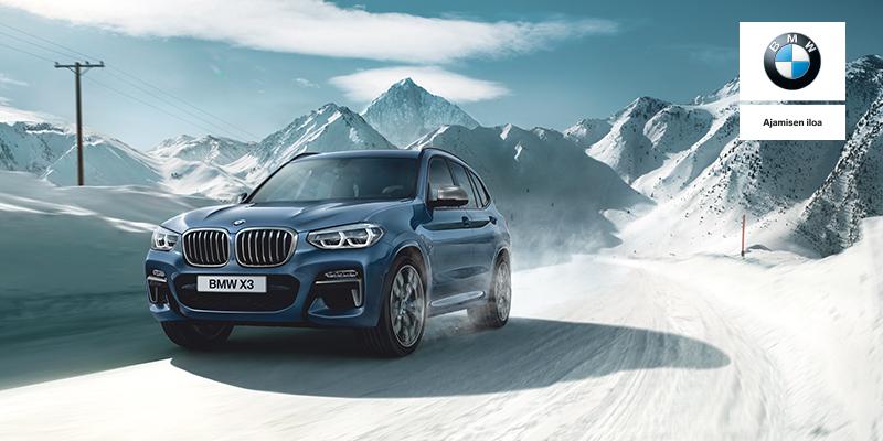 BMW X3 - WiNTER-paketti, nyt erikoishintaan 490 € Wetteriltä.