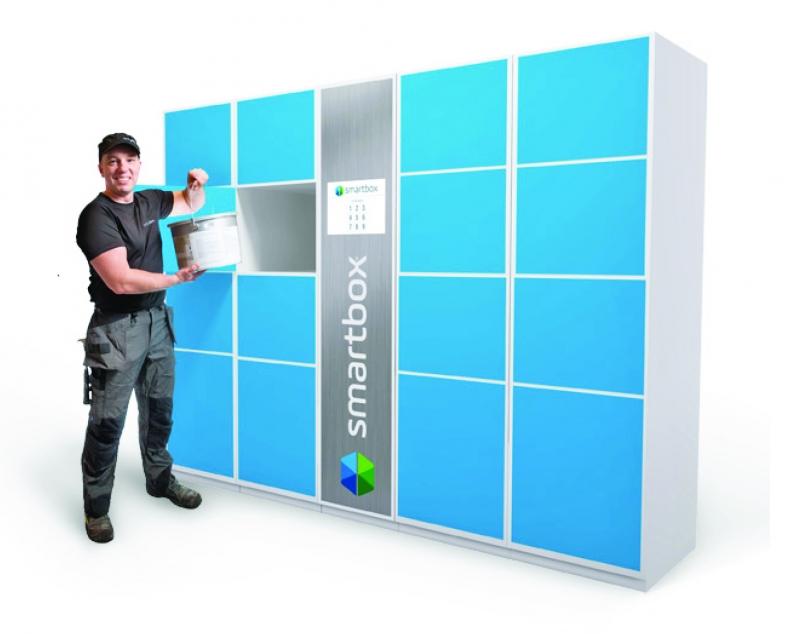 Smartbox - noutoautomaatti nyt Oulun Wetterillä!