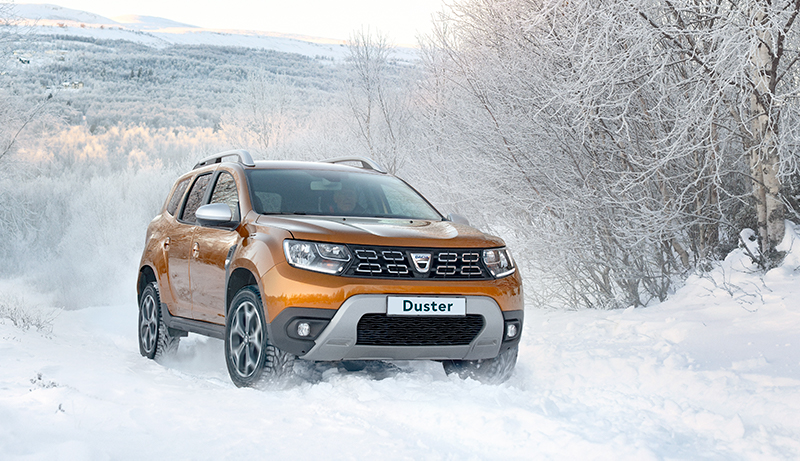 Dacia Duster Wetteri uudet autot