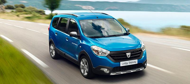 Dacia Lodgy ja Lodgy Stepway. Tila-auto seitsemälle.