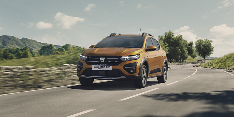 ennakkomyynnissä uusi Dacia Sandero Stepway
