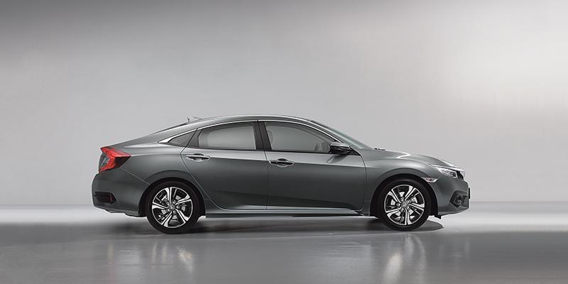 Esittelyssä uusi Honda civic
