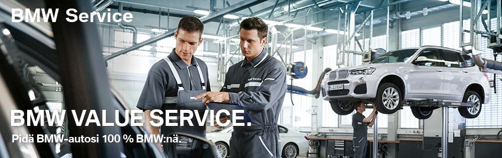 BMW Service ja pidät autosi 100% BMW:nä