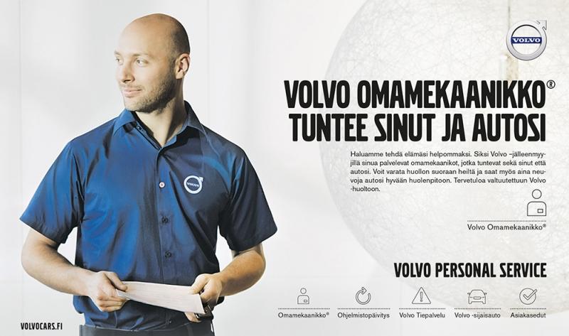 Volvo Omamekaanikko tuntee sinut ja autosi - Wetteri