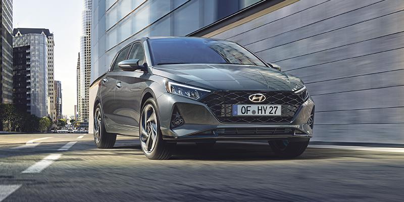 Hyundai i20 edut - edullinen rahoitus sekä talvirenkaat 299€!