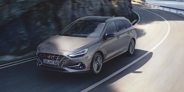 Sähkön ja turbon parhaat puolet. i30 Wagon Comfort Plus.