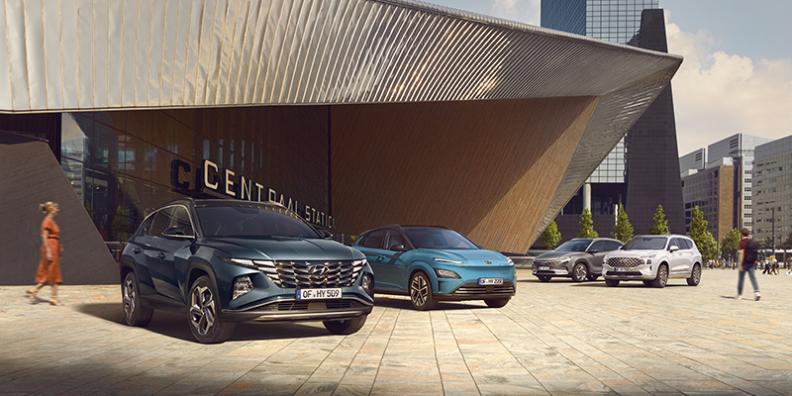 Ohittamaton korkotarjous koko Hyundai mallistoon