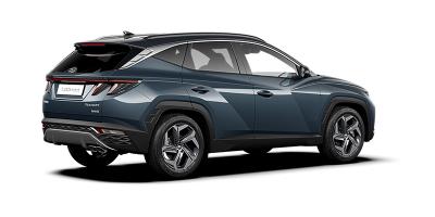 Uusi Hyundai Tuscon takaa