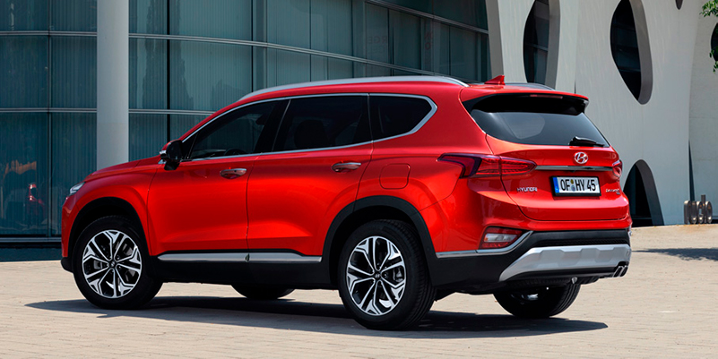 Hyundai SANTA FE — nyt etuhintaan