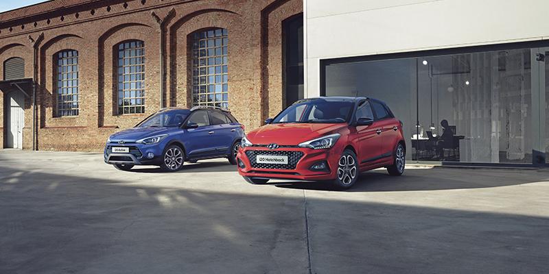 Valitse suosittu Hyundai i20 Hatchback tai i20 Active Cross korkeammalla maavaralla.
