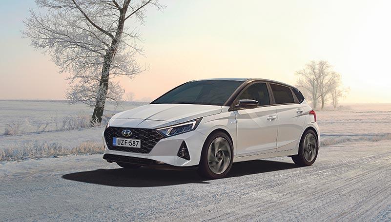 Hyundai i20 talvi uusi auto