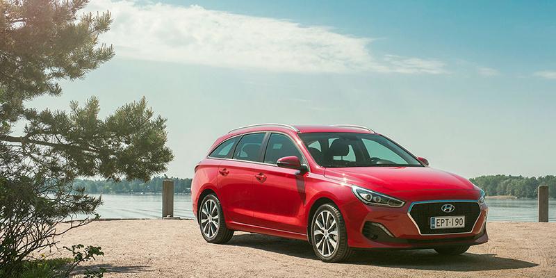 Uusi Hyundai i30 Wagon Sport Line