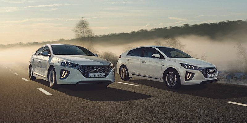 Hyundai IONIQ - ladattava hybridi vai täyshybridi?