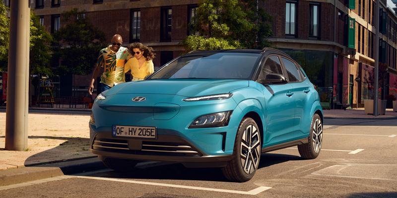 Erä Hyundai KONA Electric -autoja erikoishintaan