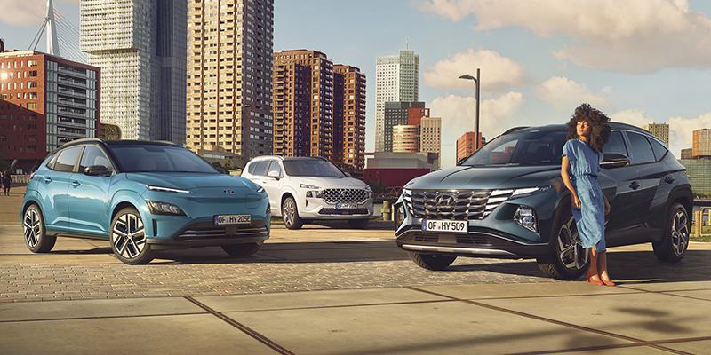 Korkotarjous 0 % + kulut koko Hyundai mallistoon