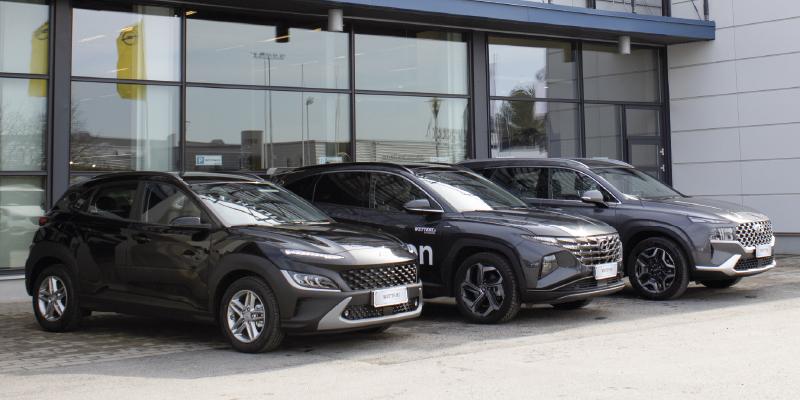 Ohittamattomat Hyundai edut suv-mallistoon.