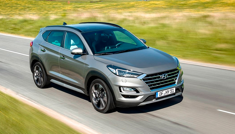 Hyundai TUCSON — neliveto nyt etuvedon hinnalla