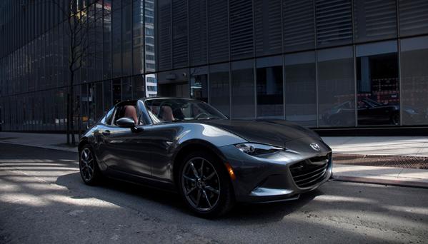Mazda MX-5 RF:n vapaasti hengittävät moottorit sopivat täydellisesti auton luonteeseen.