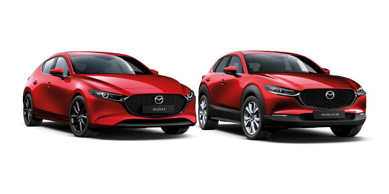 Wetteriltä erään Mazda3 ja CX-30 -malleja talvipaketti kaupan päälle