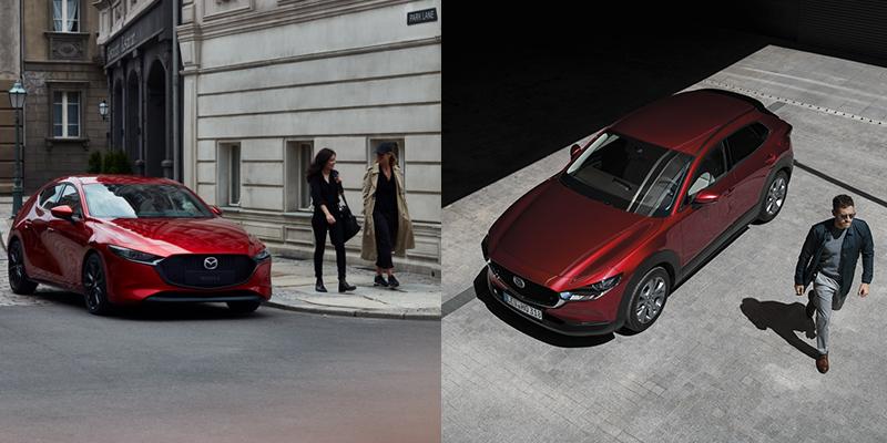 Vaihda nyt uuteen Mazda3 tai CX-30 -malliin, Huippuhyvitys vaihtoautostasi!
