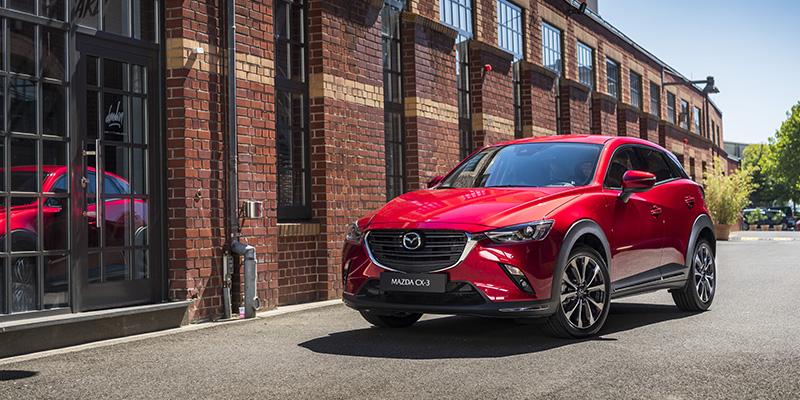 Mazda CX-3 nyt kampanjahintaan