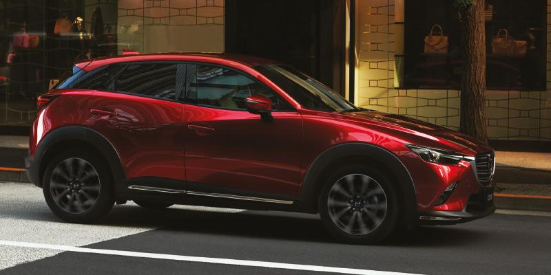 Mazda CX-3 - Touring varustepaketti nyt hintaan 1.499€