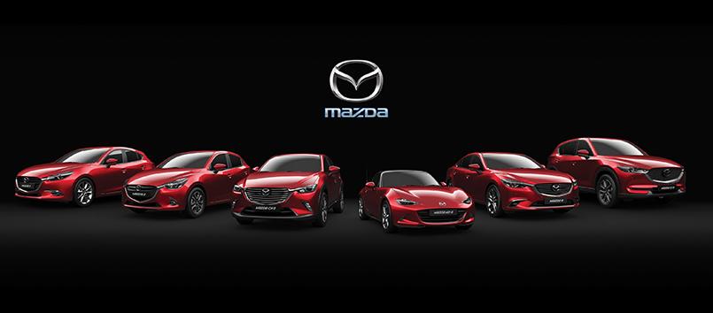 Rahoituskorko 0,90% + kulut* koko Mazda-mallistoon!