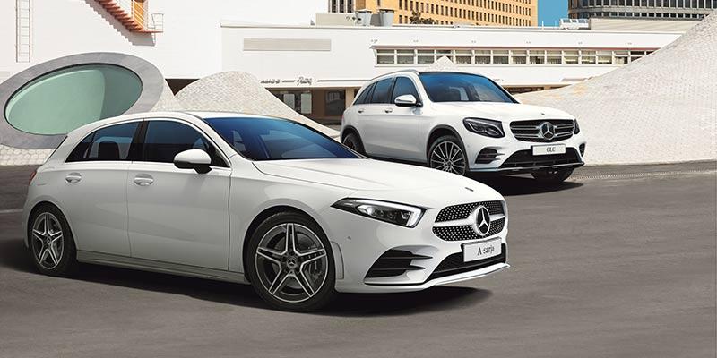 Uudessakaupungissa valmistetut A-sarja ja GLC ovat luokkansa halutuimpia autoja Suomessa ja muualla Euroopassa.