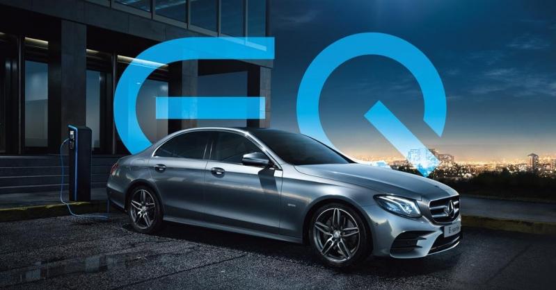 Mercedes-Benz E-sarja ja EQ Power.