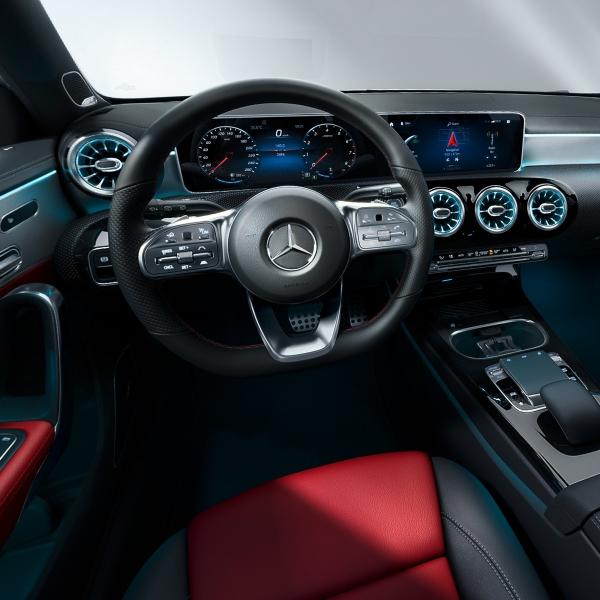 Mercedes-Benz A-sarja sitätilat