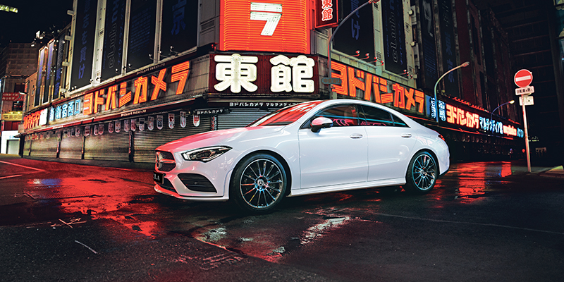 Mercedes-Benz uutuus CLA Coupe