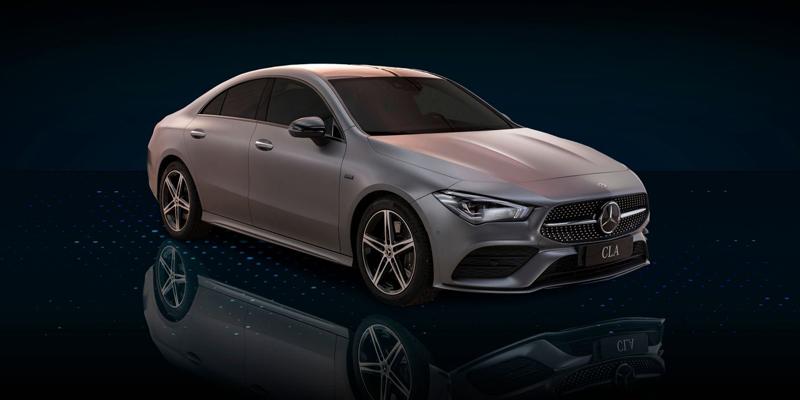 Mercedes-Benz CLA Coupéladattava hybridi