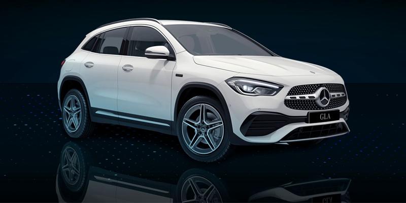 Mercedes-Benz GLA ladattava hybridi