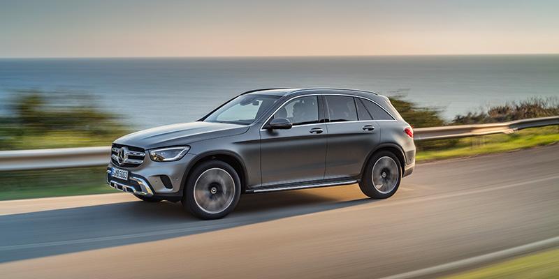 Mercedes-Benz GLc - Monipuoliset, tilavat ja sporttiset menestysmallit uudistuvat