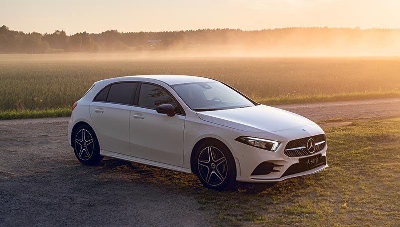 Mercedes-Benz A -sarja - nyt Advantage-paketti erikoishintaan.