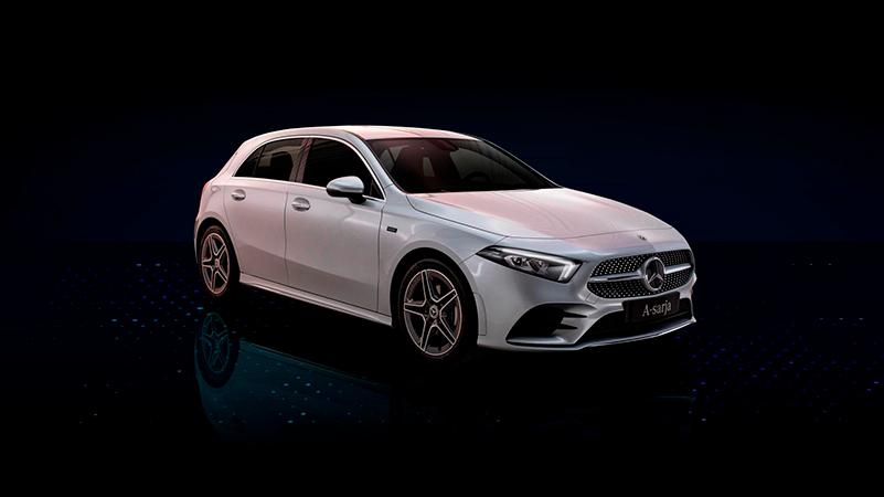 Mercedes-Benz A-sarjan ladattava hybridi Wetteri uudet autot