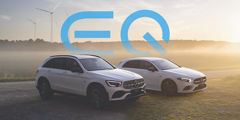 Mercedes-Benz A-sarja ja GLC ladattavat hybridit. Made in Uusikaupunki.